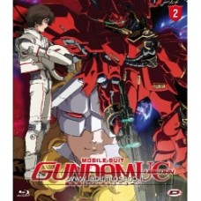 Mobile Suit Gundam Unicorn #02 - La Cometa Rossa Blu-ray