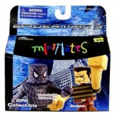 minimates spider-man 3 black-suited spider-man sandman