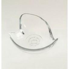 porta oggetti vetro a cuore