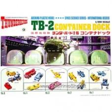 Super oversize Thunderbirds 2 Container Dock Model Kit Model Kit Aoshima