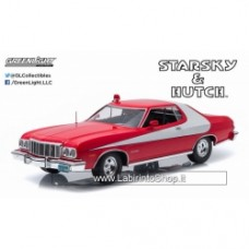 "Greenlight Artisan Series: 1976 Ford Gran Torino ""Starsky and Hutch"" 1/18 Scale"