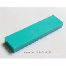 Mattonella 1 x 4 Verde-Azzurro Cobi