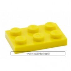 Piastra 2 x 3 giallo Cobi