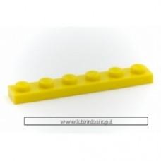 Piastra 1 x 6 giallo Cobi