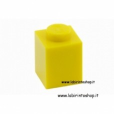Mattone 1 x 1 giallo Cobi