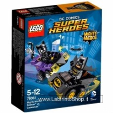 Mighty Micros: Batman vs. Catwoman 76061