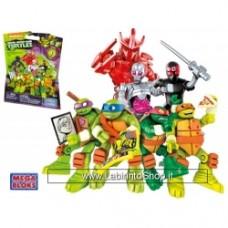 Mega Bloks Teenage Mutant Ninja Turtles Busta a sorpresa