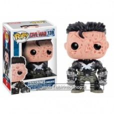 Funko POP! Marvel Civil War Crossbones Unmasked