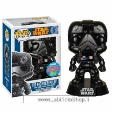 Funko POP Star Wars: Black Chrome Tie-Fighter Pilot NYCC Exclusive