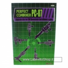 Perfect Effect PC-07 Upgrade kits for CW devastator bot Elbows and Guns