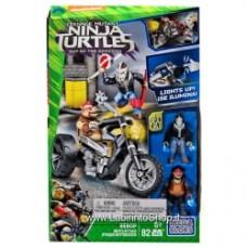 Mega Bloks Teenage Mutant Ninja Turtles Out of the Shadows Bebop Moto Attack 32647