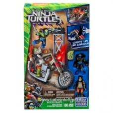 Mega Bloks Teenage Mutant Ninja Turtles Out of the Shadows Rocksteady Moto Attack