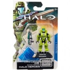 Halo Heroes Spartan Defender Set Mega Bloks 25036