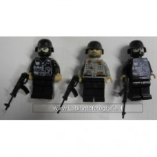 Brick-one Minifigure Terroristi