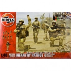 Airfix British Forces Infantry Patrol