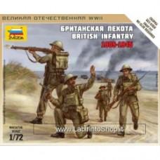ZVEZDA WWII: British Infantry (1939 -1942) 1/72