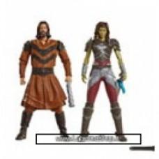Warcraft Figure 2 Pack Build A Portal Wave 1 6 cm lothat vs garona
