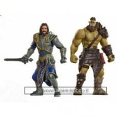 Warcraft Figure 2 Pack Build A Portal Wave 1 6 cm Lothat vs Horde Warrior