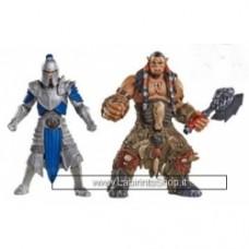 Warcraft Figure 2 Pack Build A Portal Wave 1 6 cm Alliance Soldier Vs Durotan