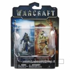 Warcraft Figure 2 Pack Build A Portal Wave 1 6 cm Alliance Soldier Vs Horde Warrior