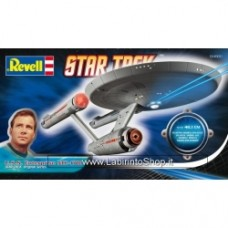 Star Trek Tos The Original Series U.S.S. Enterprise Ncc-1701 Plastic Kit 1:600 Model