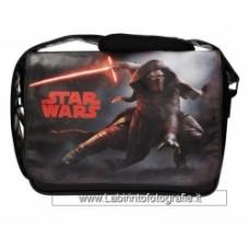 STAR WARS 7 - Messenger Bag With Flap - Kylo Lightsaber