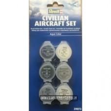 Revell Civilian Aircraft Set acrylic paint