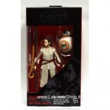 Star Wars The Black Series 6-Inch Rey (Jakku) and BB-8 - NEW