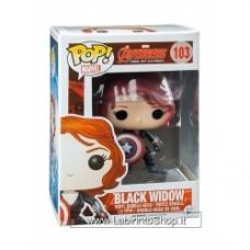Avengers Age of Ultron Black Widow with Shield Pop! Vinyl Bobble Head Fig