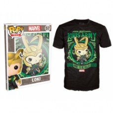 Pop! Tees: Marvel - Loki's Army