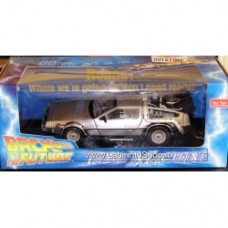 Back to the Future DeLorean Time Machine Die-Cast Metal 1 18 Scale