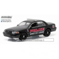 Greenlight E. St. Louis, Illinois Police Ford Crown Victoria Police Interceptor