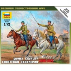 ZVEZDA World War II Soviet Cavalry 1935-1942 1/72