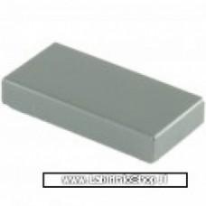 Mattonella 1 x 2 grigio chiaro Compatibile