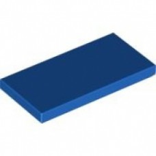 Mattonella 2 x 4 Blu Compatibile