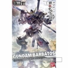 Mobile Suit Gundam iron blood or fences Gundam Barbate 1 / 100 scale color plastic model