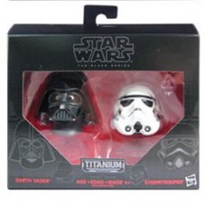 Star Wars Black Series Die-Cast Metal Darth Vader Stormtrooper