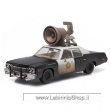 The Blues Brothers Bluesmobile 1974 Dodge Monaco 1:43 Scale Die-Cast Metal Vehicle with HORN