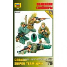 ZVEZDA 3595 German SNIPER TEAM KIT 1:35