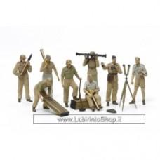 Tamiya 1:35 german AFRICA CORPS luftwaffe artillery crew set