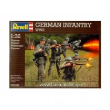 Revell German Infantry WWII 1:32