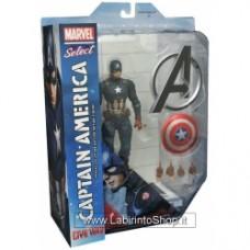 Marvel Select Captain America (Civil War Movie) Action Figure