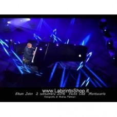 Elton John Live at Yacht Club Montecalo 2 settembre 2016 Photo Book fotografie di Andrea Palmieri