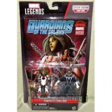 "GAMORA & STAR-LORD Marvel Legends 3.75"" Comic Pack Guardians of the Galaxy"