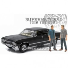 Greenlight Supernatural 1967 Chevrolet Chevy Impala  1/18 with Sam & Dean