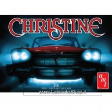 AMT 801 1/25 1958 Plymouth Christine Car (Red) Model Kit