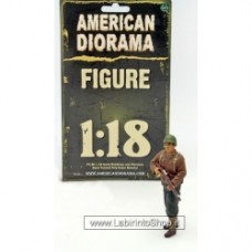1/18 WWII USA Soldier #2 with riffle