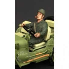 1/18 WWII USA Soldier Driver