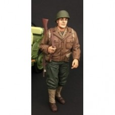 1/18 WWII USA Soldier #1 with riffle