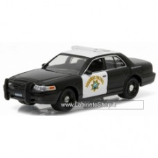 1:64 GREENLIGHT HOT PURSUIT 2008 Ford Crown Victoria Police Interceptor California Highway Patrol
